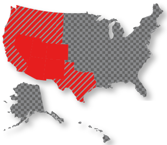 TAG Coverage Map